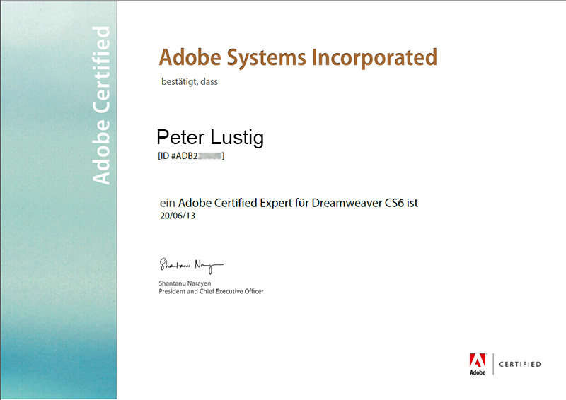 Adobe-Zertifizierung-ACE