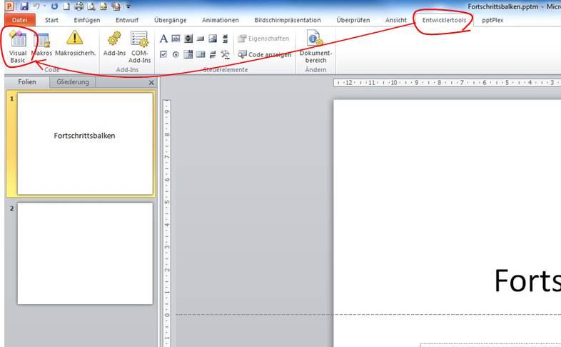 VBA Editor starten