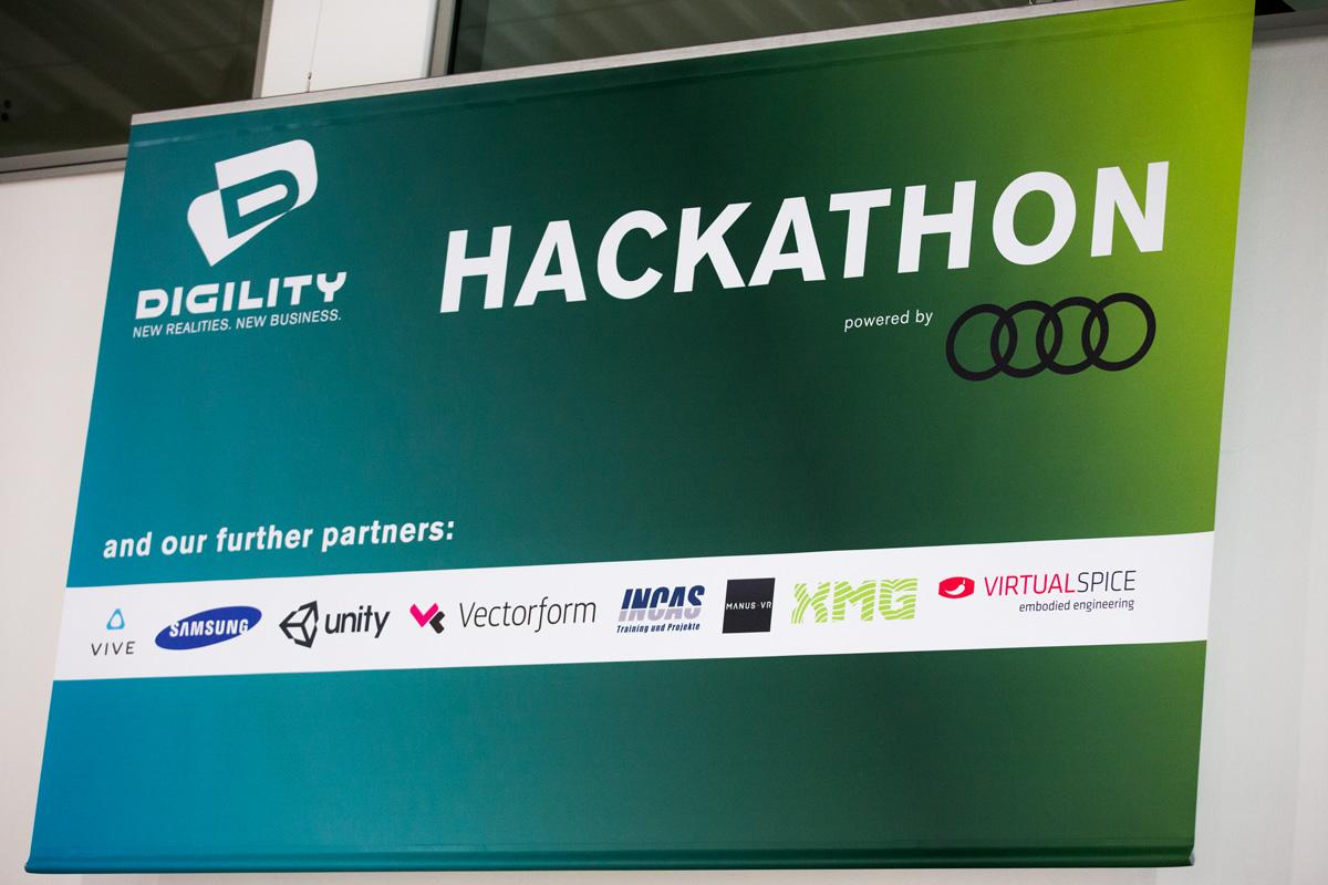 Hackathon auf der Digility