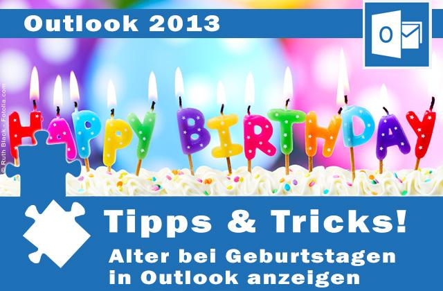 Outlook Geburtstage